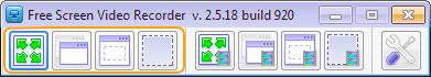 screenshot windows Free Screen Recorder